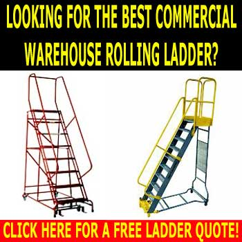 Warehouse Industrial Ladders, Accessories & Discount Sales