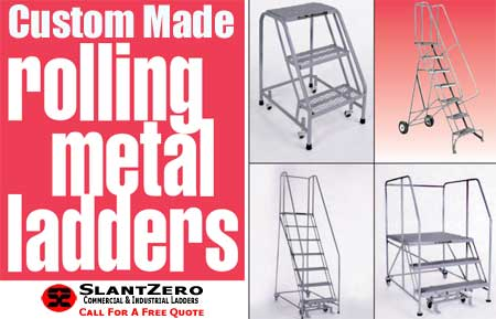 Custom Made Commercial & Industrial Ladder Sales